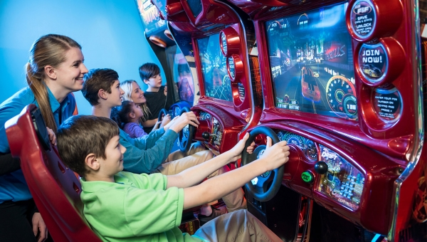 No ordinary arcade, discover a fun-filled experience today